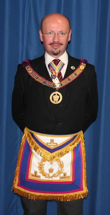 Deputy Provincial Grand Master V.W.Bro. Graham D Seeman, P.G.J.O.