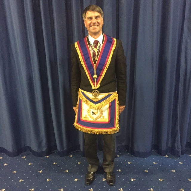 Provincial Grand Secretary W.Bro. A Huw Hopkin, P.G.Stwd.