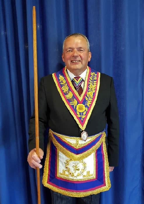 Provincial Grand Director of Ceremonies W.Bro. Steve J Berkshire, P.G.J.D.