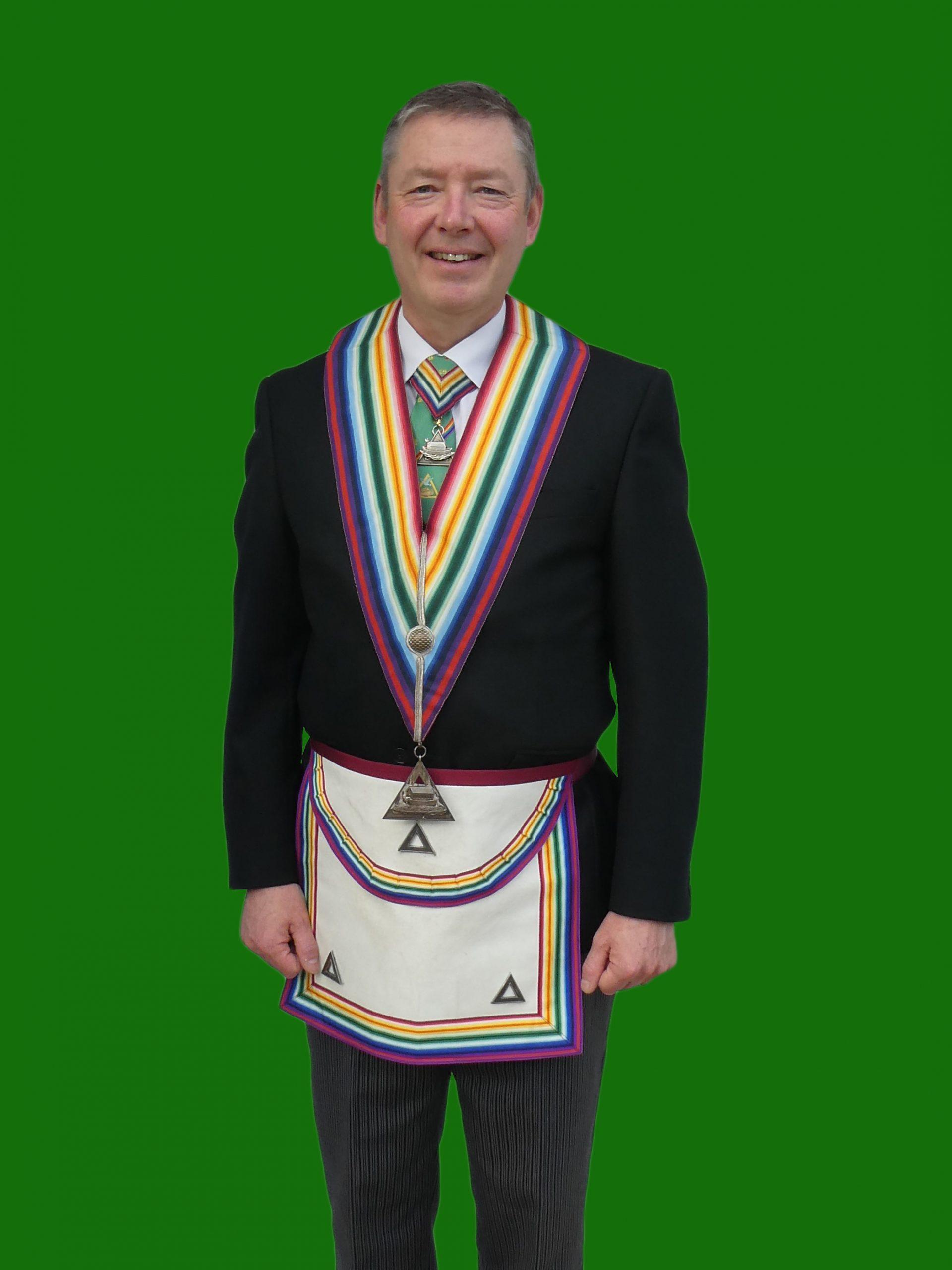 Provincial Grand Treasurer W.Bro. Jim E Payen, Prov.R.A.M.G.R.