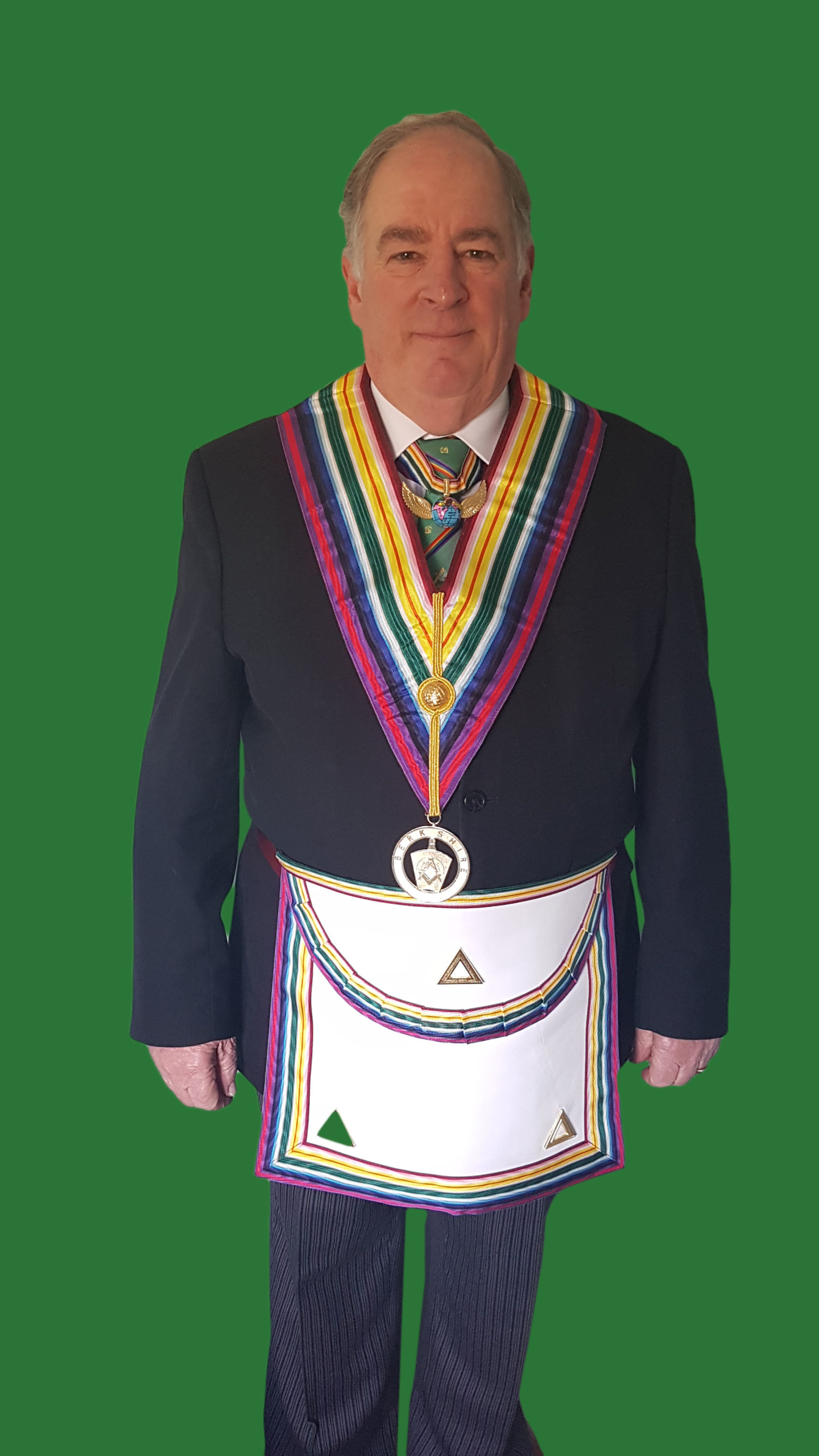 Provincial Grand Master R.W.Bro. Richard J Olliver, G.M.R.A.C.